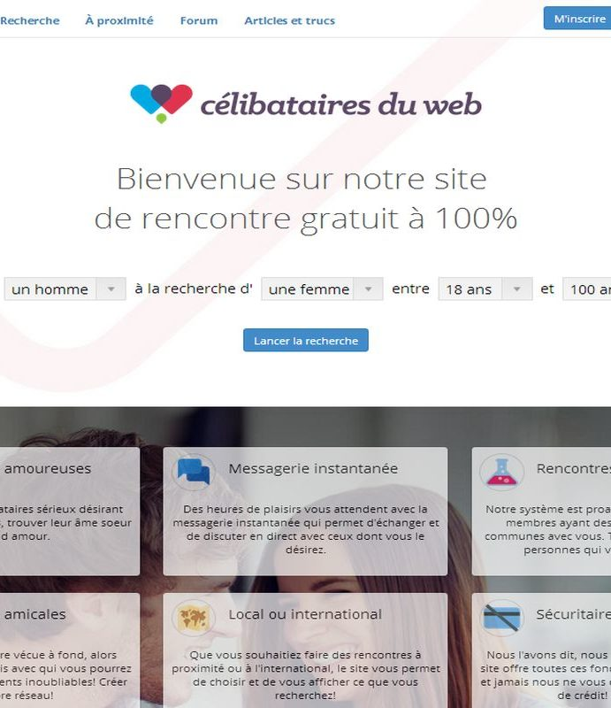 Sites de rencontres gratuits sur paris